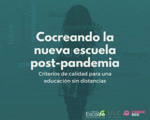 escuela pandemia postpandemia