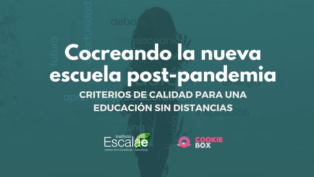 cocreando la escuela pandemia postpandemia